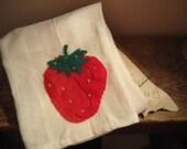 yummy strawberry t-towel