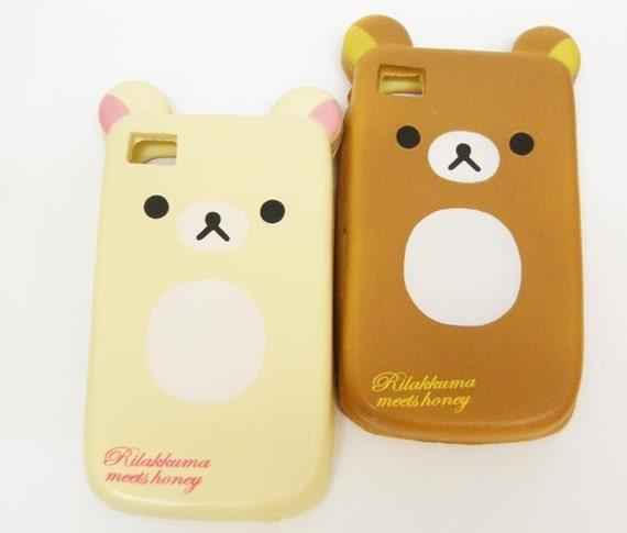 Squishy Bread Iphone Case : Kawaii Cute Deco Japan Squishy Rilakkuma Bear by melovewholesale