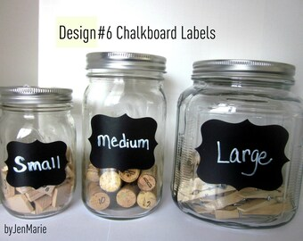 DesignNo.6  Chalkboard Labels