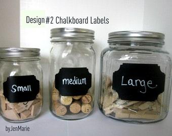DesignNo.2 Chalkboard Labels