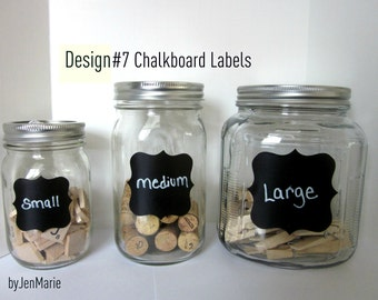 DesignNo.7 Chalkboard Labels