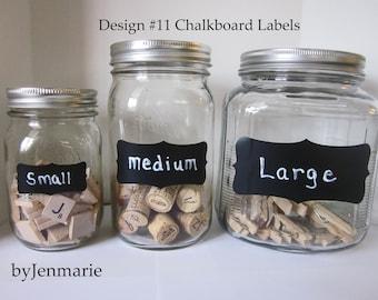 DesignNo.11 Chalkboard Labels