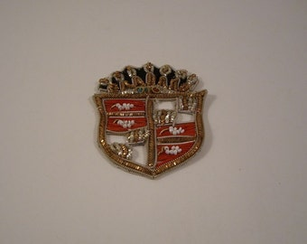 Classic Gold Bullion Blazer Crest--One Piece