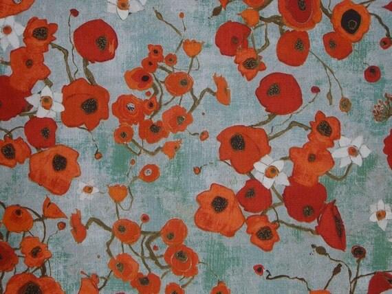 poppy print fabric - photo #16