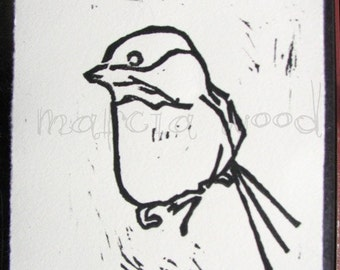 Tell Me Secrets - Original Artwork - Linocut Print