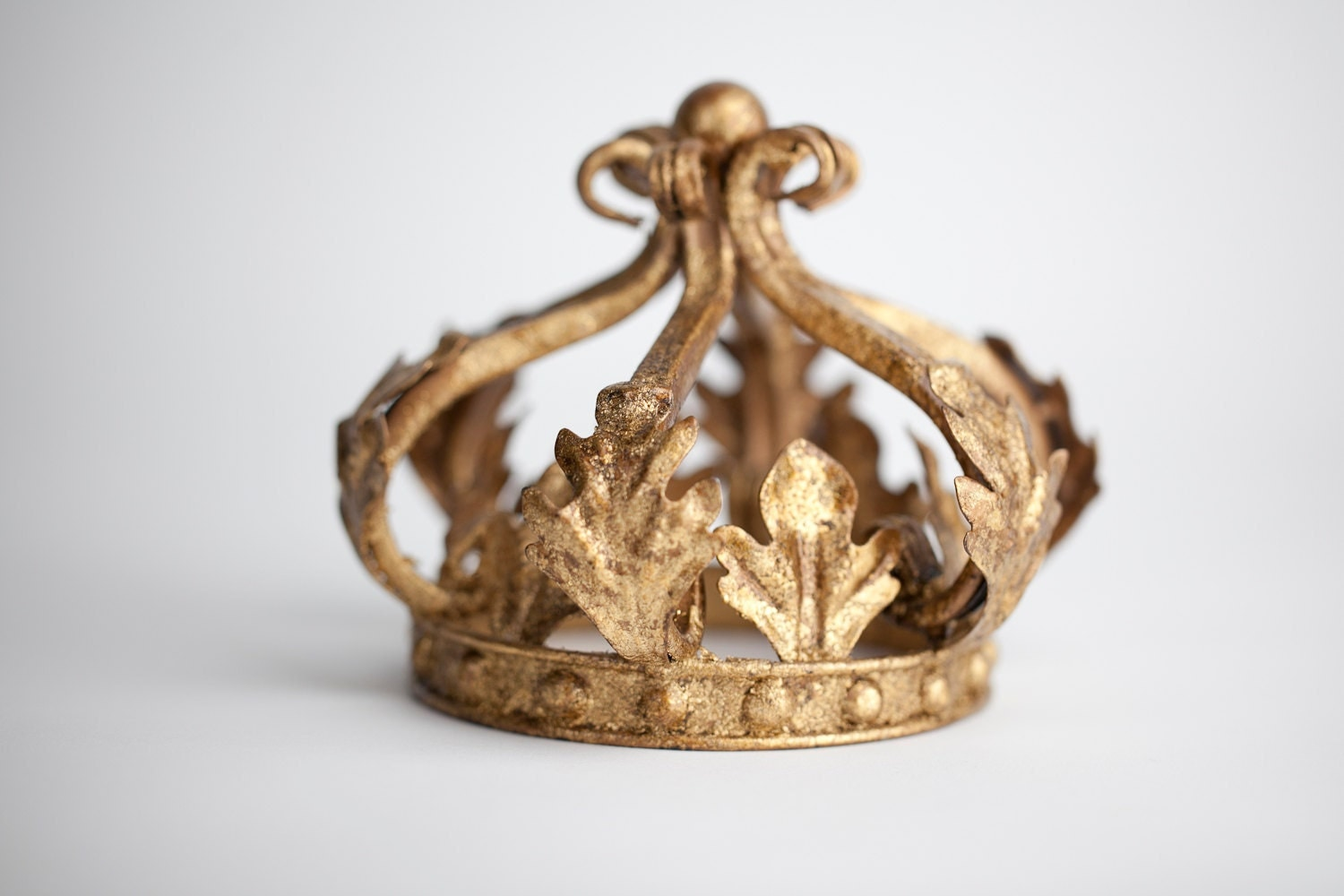 Gold Crown Cake Topper Wedding Cake Top By Partsforyourart