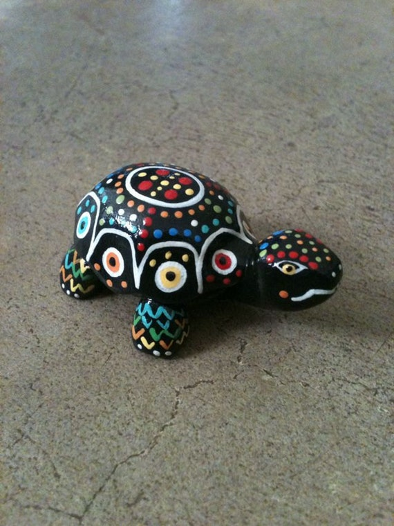 Clay Turtle Figurine Sculpture Terrarium Accessory