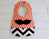 Moustache Baby Bib Cool Baby Clothes