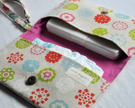 Diaper Clutch and Changing Pad Set
