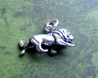 Sterling Silver   Zodiac  Leo  Sign Charm