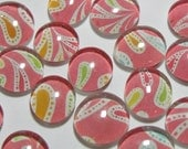 Paisley Power - Set of 9 glass magnets
