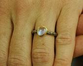 Custom Made labradorite ring for EstyJo