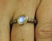 Custom Moonstone Ring for Lisa