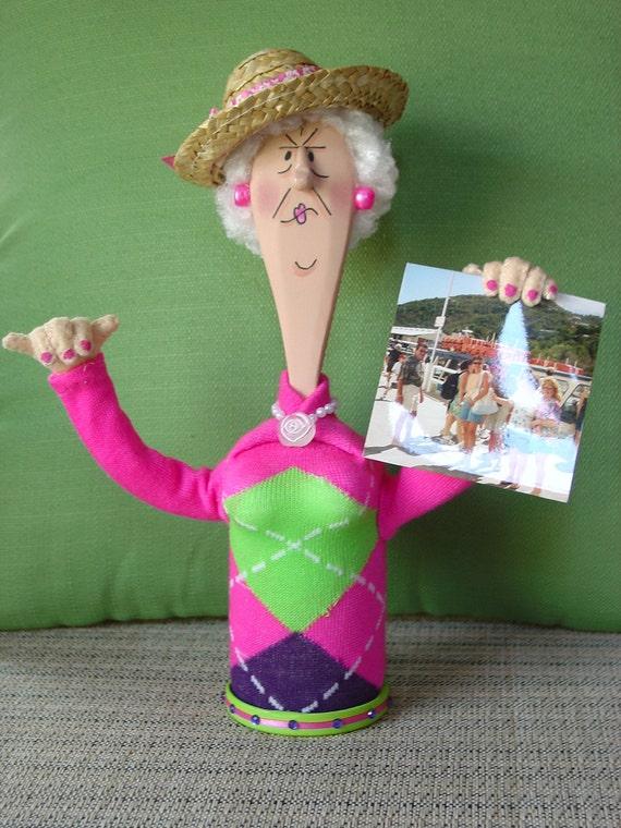 Grumpy Granny Photo Holder