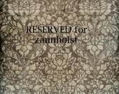 RESERVED for zannholst