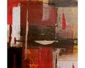 Original Painting Abstract organic canvas painting industrial acrylic