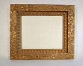 Antique Victorian Ornate Gold Frame - 8 x 10 Gesso