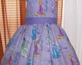 DISNEY  RAPUNZEL  Dress   Lavendar size  5