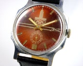 Vintage ZIM Olympic 80 mechanical watch from Soviet/Ussr