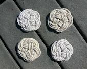 Nautical Rope Coasters (set of 4)
