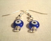 Evil Eye Earrings Nazar Mati Luck of the Eye