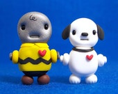 Charlie Brown and Snoopy Chibi Bot