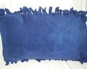 Blue Fleece Pillowcase