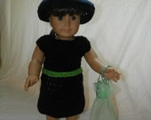Witch costume for Doll
