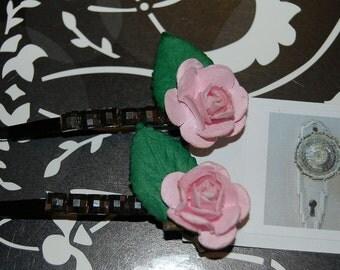 rose barrette