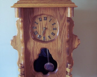 Tall Mantle Clock