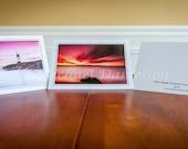 Greeting Card Set - Set of 3- Seaside Photography