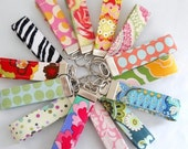 SAVE - Wholesale Order of 20 - Wristlet Key Fobs - Variety of Fabrics
