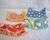 Set of FOUR (4) for 28 - Lavender Aroma Therapy Eye Pillow - Aromatherapy Yoga Mask - MONOGRAM AVAILABLE
