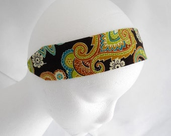 FREE SHIPPING --- Headband - Adult/Teen Size - Patti Paisley