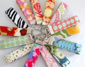 SAVE ---- Wholesale Order of 20 ---- Wristlet Key Fobs ---- Variety of Fabrics ---- Choose Your Fabrics
