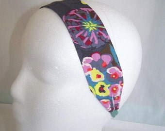 FREE SHIPPING --- Headband - Adult/Teen Size - Anna Marie Horner Clippings Passion Fabric