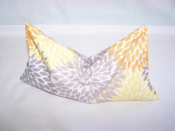 Featured in BHG and Nails Magazine - Lavender Aroma Therapy Eye Pillow - Aromatherapy - MONOGRAM AVAILABLE