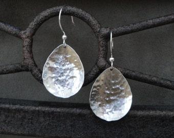 Sterling Silver Teardrop Earrings - Gifts for Her