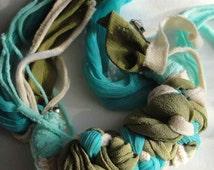 DayDreams Braided Silk Adjustable Cuff