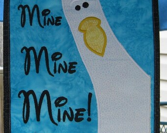 """Original Umbrella Spotter """"Mine Mine Mine""""  For Your Disney Cruise Or Anywhere.  Don't Lose Your Spot Again"""