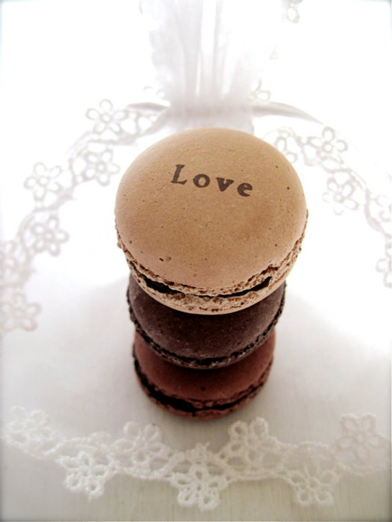 Valentines Day-Love Ceramic Chocolate Macaron Sachet-Fragrance Object