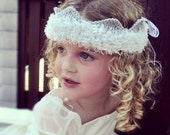 Silver Knitted Crown