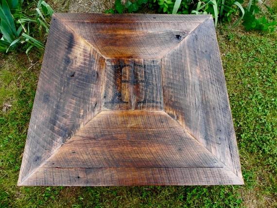 RESERVED (Kristi Nayden) Hoffman Coffee Table - Custom Woodburned Monogram (FREE SHIPPING)