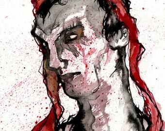 Caligula - Matte Print