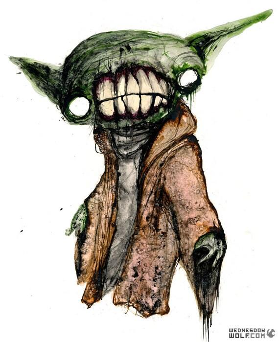 Yoda - Matte Print