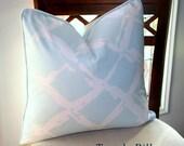 ON SALE Robert Allen Tidal Bay Ice Pillow Cover