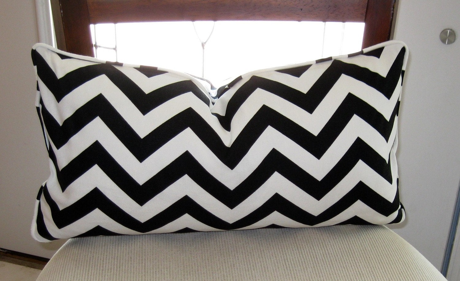 You searched for: black chevron pillow! Etsy is the home to thousands of handmade, vintage, and one-of-a-kind products and gifts related to your search. No matter what you're looking for or where you are in the world, our global marketplace of sellers can help you .