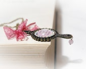 Snow White Magic Mirror Bronze Necklace