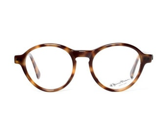 vintage round James Dean glasses - brown tortoise eyeglasses for men and women - perfect gift for dad / gift for him or her - JD habana