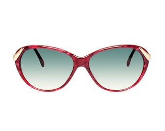 Raspberry Red Vintage Sunglasses - Casanova